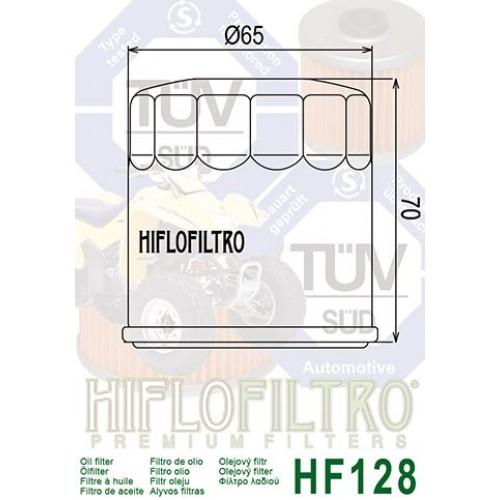 FILTRE A HUILE HIFLOFILTRO HF128