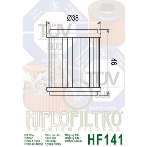 FILTRE A HUILE HIFLOFILTRO HF141