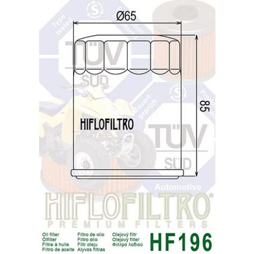 FILTRE A HUILE HIFLOFILTRO HF196