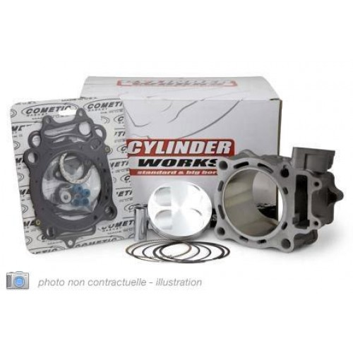 KIT CYLINDRE-PISTON 750 CC CYLINDER WORKS POUR KAWASAKI KVF-BRUTE FORCE 750 / TERYX 750 (cylindre AR)