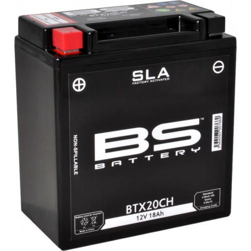 BATTERIE BS SLA YTX20CH-BS