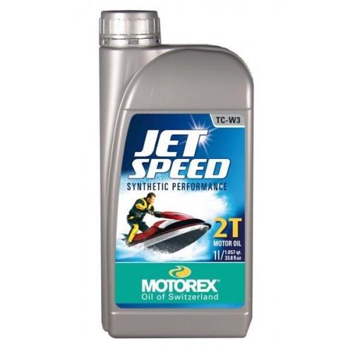 HUILE MOTEUR MOTOREX JET SPEED 2T - 1L