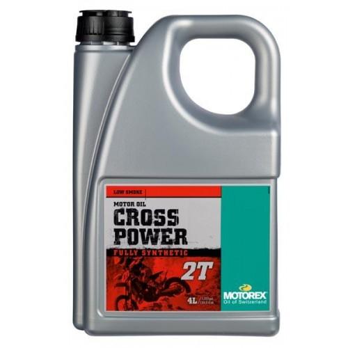 HUILE MOTEUR MOTOREX CROSS POWER 2T - 4L