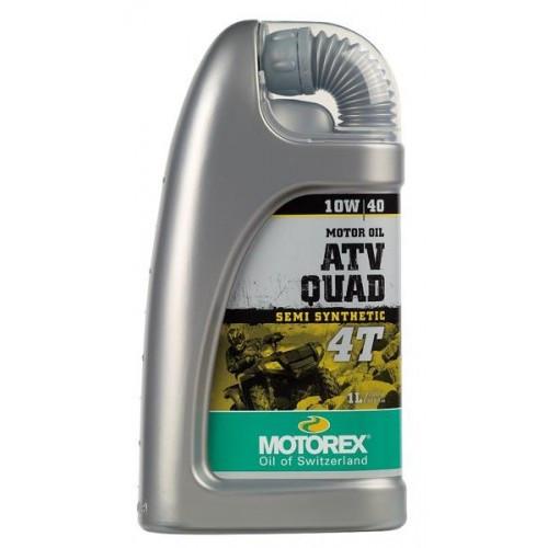 HUILE MOTEUR MOTOREX ATV QUAD 4T 10W40 - 1L