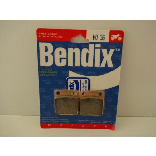 PLAQUETTES DE FREIN BENDIX MO36