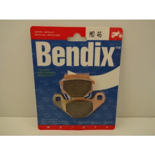 PLAQUETTES DE FREIN BENDIX MO46