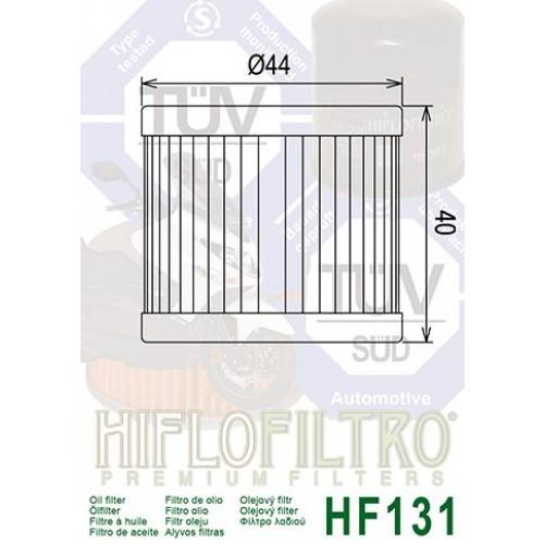 FILTRE A HUILE HIFLOFILTRO HF 131