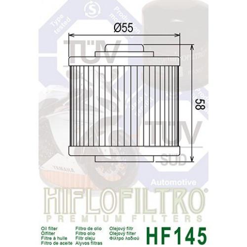 FILTRE A HUILE HIFLOFILTRO HF145