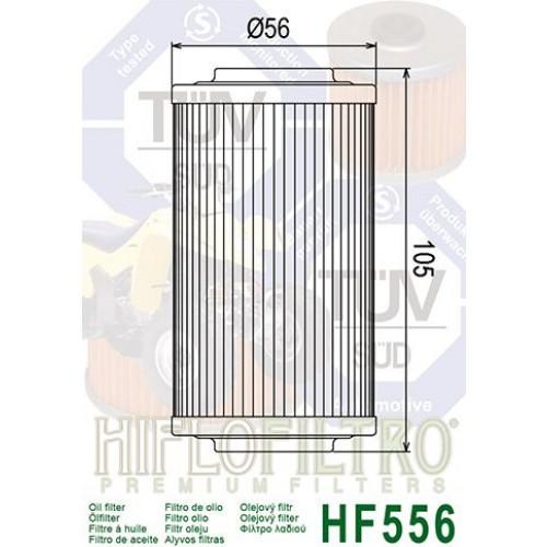 FILTRE A HUILE HIFLOFILTRO HF556