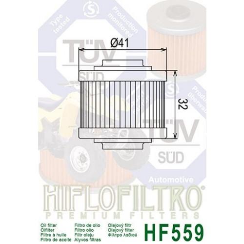 FILTRE A HUILE HILFOFILTRO HF 559