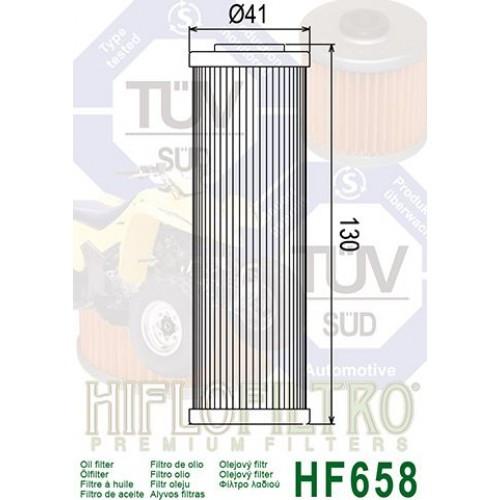 FILTRE A HUILE HIFLOFILTRO HF658
