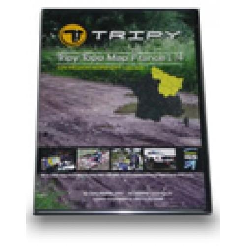CARTE IGN France Sud-Est 1/50.000 POUR GPS TRIPY II EUROPE