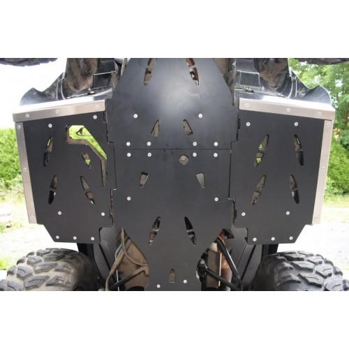 PROTECTIONS DE MARCHE PIEDS AXP EN PHD POUR QUAD KAWASAKI KVF / BRUTE FORCE 750