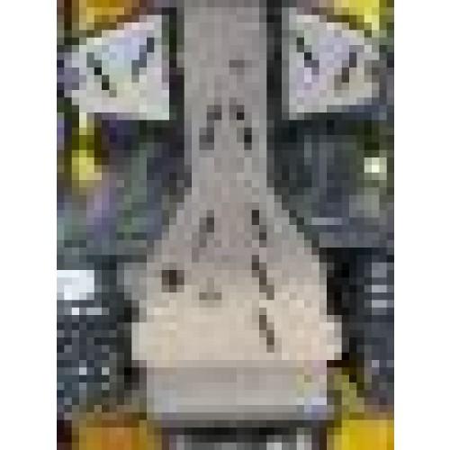 SEMELLE CENTRALE AXP EN ALU POUR TGB 425 BLADE