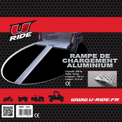 RAMPE DE CHARGEMENT U RIDE POUR MOTO 200KG