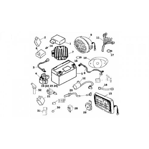SYSTEME ELECTRIQUE - HYTRACK 265H