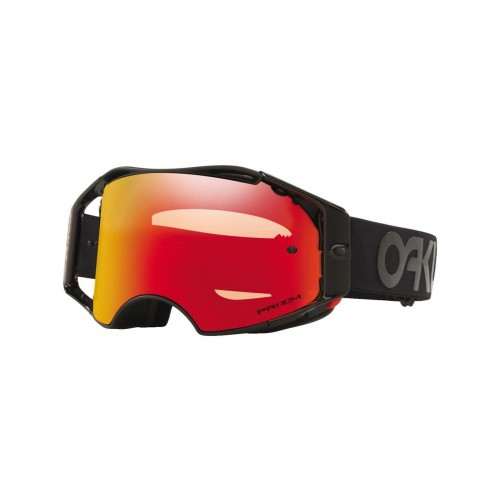 MASQUE OAKLEY AIRBRAKE MX BLACKOUT FACTORY PILOT ÉCRAN PRIZM MX TORCH IRIDIUM