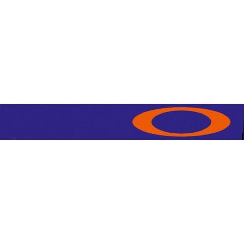 MASQUE OAKLEY AIRBRAKE MX ORANGE FLUO/BLEU ÉCRAN PRIZM MX SAPPHIRE IRIDIUM